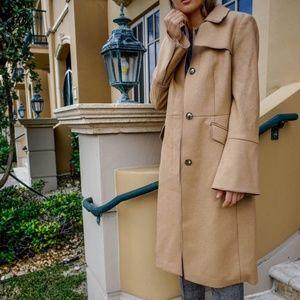 Italian Wool-Blend Trench Coat